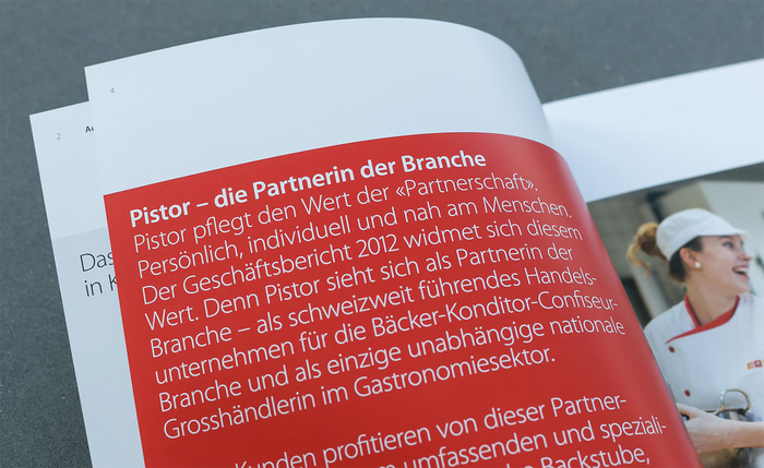 Pistor – annual report 5