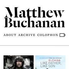 matthewbuchanan.name