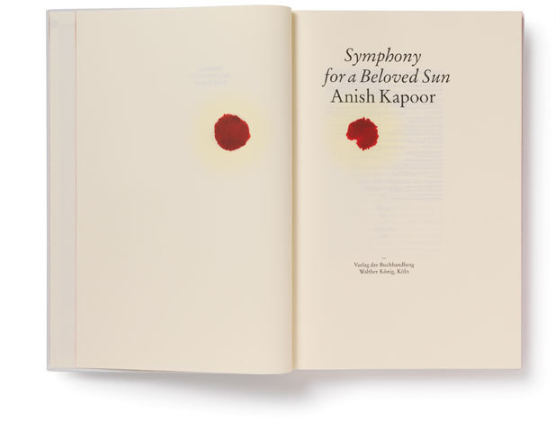 Anish Kapoor: Symphony for a Beloved Sun catalogue 2