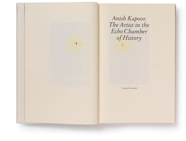 Anish Kapoor: Symphony for a Beloved Sun catalogue 4