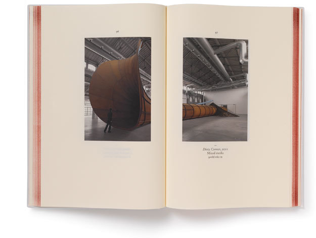 Anish Kapoor: Symphony for a Beloved Sun catalogue 7
