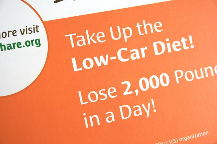 Boulder CarShare promotion 3