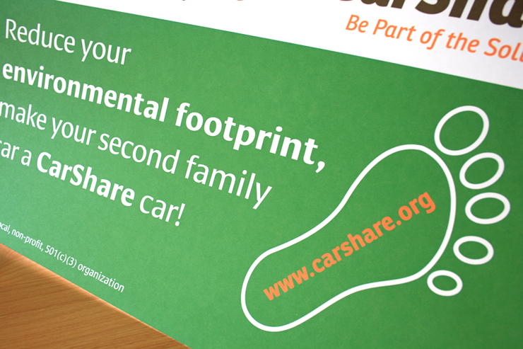 Boulder CarShare promotion - Fonts In Use
