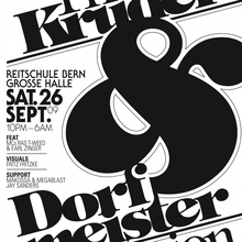 The Kruder & Dorfmeister Session, Reitschule Bern