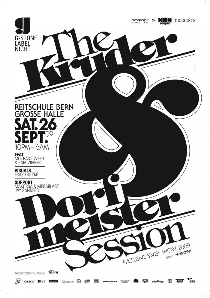 The Kruder & Dorfmeister Session, Reitschule Bern