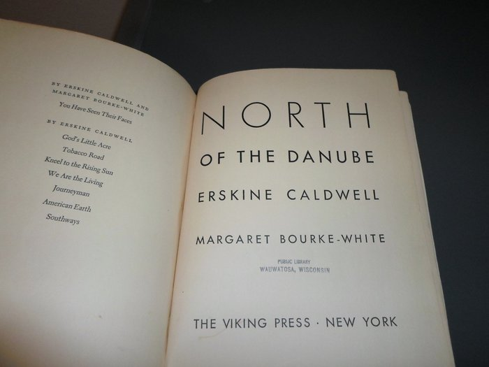 North of the Danube by Erskine Caldwell 4