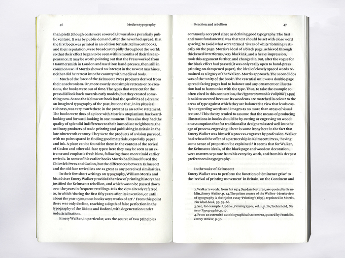 Modern Typography. An Essay in Critical History by Robin Kinross 2
