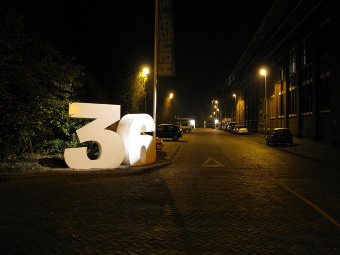 House number for Bink36 1