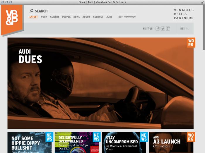 Venables Bell & Partners website 8