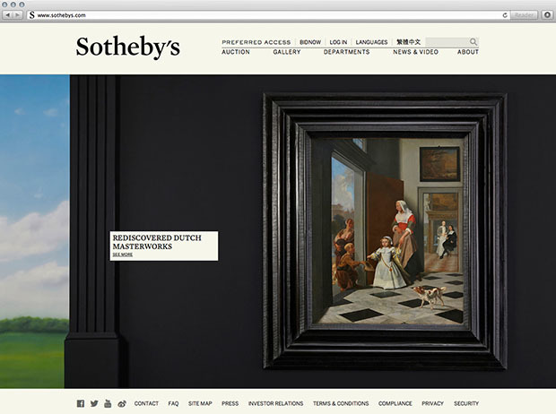 Sotheby's 2014 Redesign 9