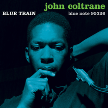John Coltrane – <cite>Blue Train</cite> album art