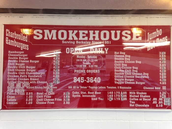 Smokehouse, Berkeley