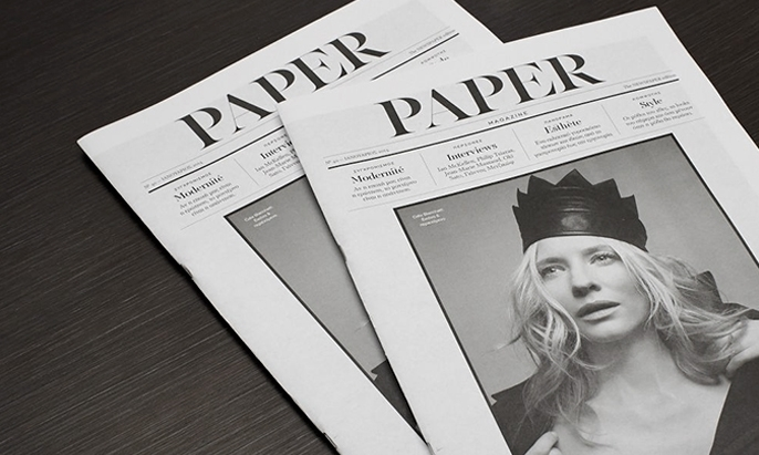 Paper magazine 1