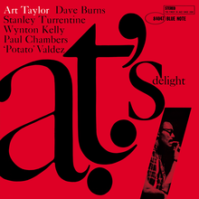 Art Taylor – <cite>A.T.'s Delight</cite> album art