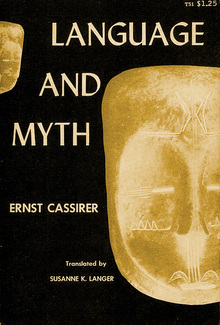 <cite>Language and Myth</cite> by Ernst Cassirer, Dover