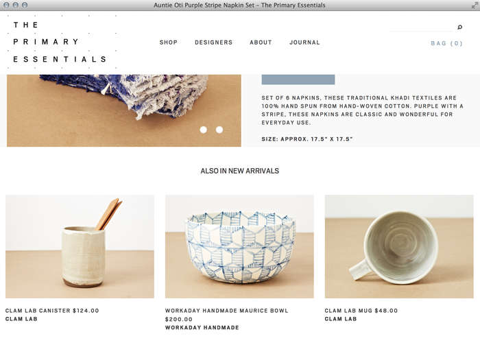 The Primary Essentials Store & Website 1