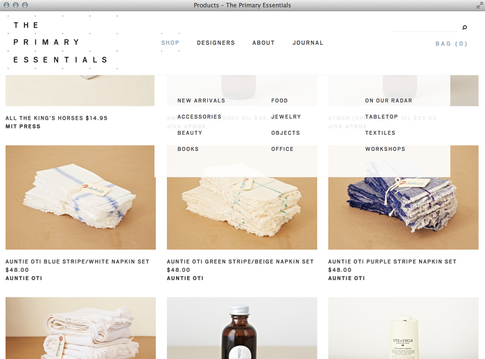 The Primary Essentials Store & Website 4