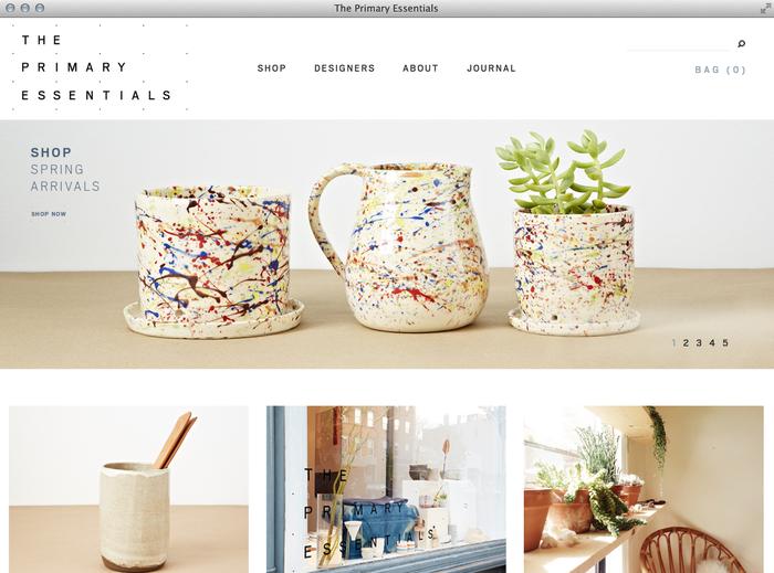 The Primary Essentials Store & Website 6
