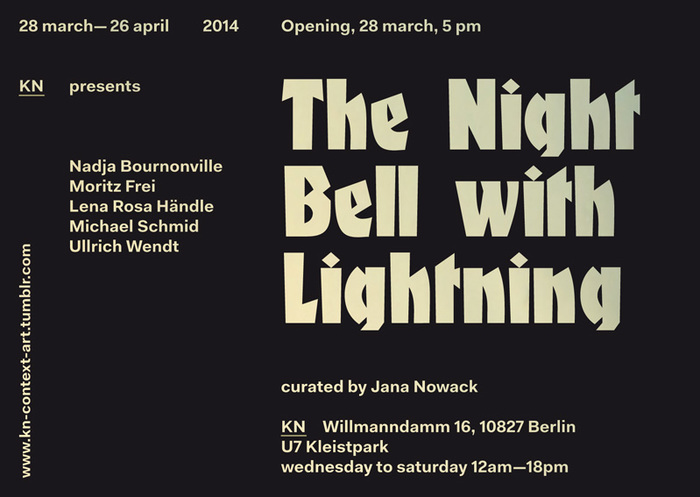 The Night Bell With Lightning at KN 1