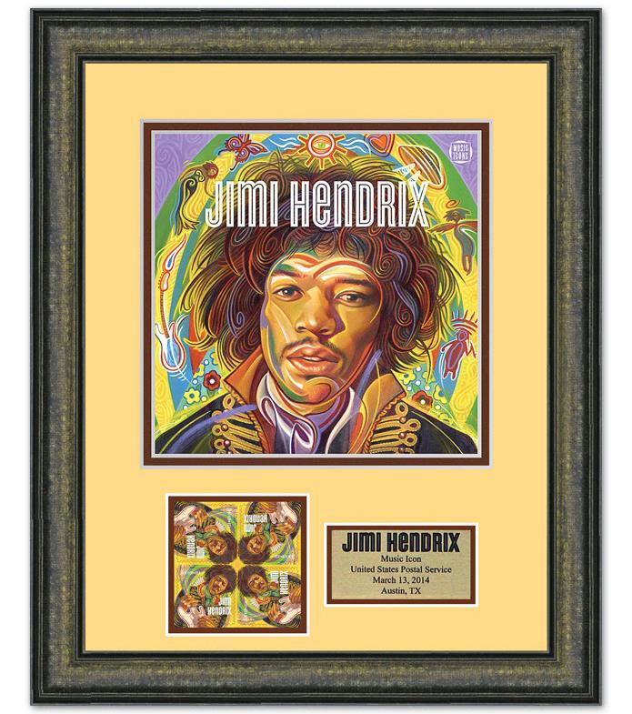 Jimi Hendrix Forever® US postage stamp 2