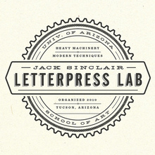 Jack Sinclair Letterpress Lab