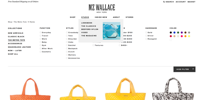 MZ Wallace Website 6
