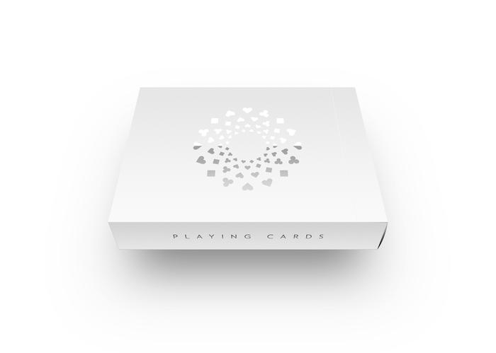 A fittingly minimalist box design