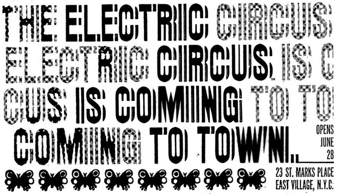 The Electric Circus posters, flyers, ads 5