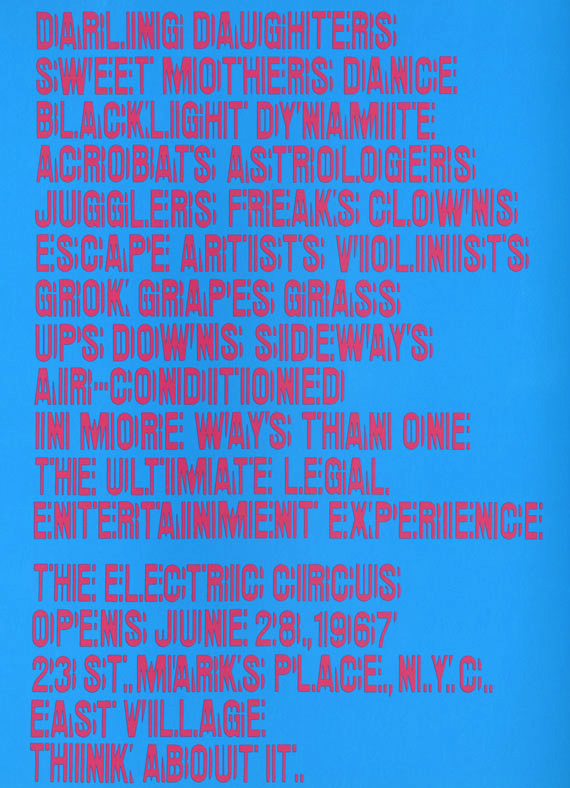 The Electric Circus posters, flyers, ads 4