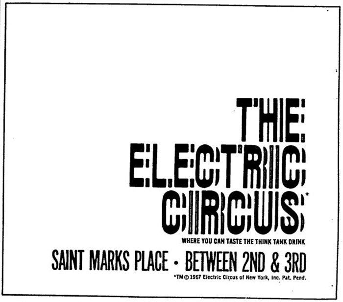The Electric Circus posters, flyers, ads 3
