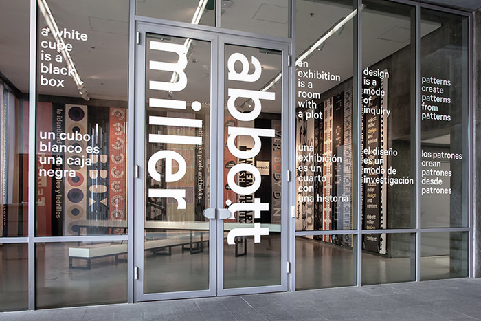 Abbott Miller: Design and Content exhibition 3