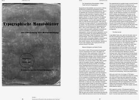 30 Years of Swiss Typographic Discourse in the Typografische Monatsblätter 3