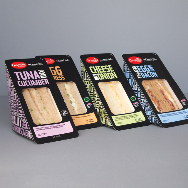 Ginsters food packaging 2