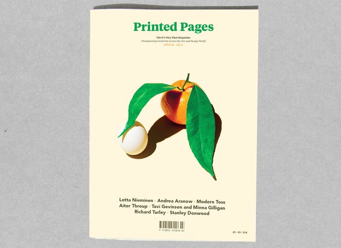Printed Pages, Spring 2014 6
