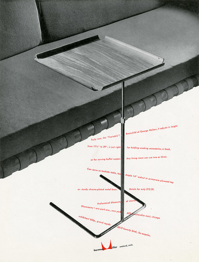 Herman Miller ads for George Nelson Designs, 1948–50 2