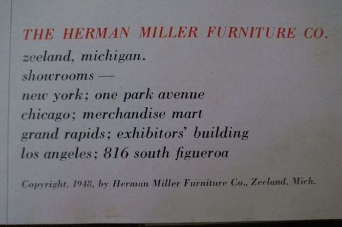 Herman Miller Collection 1948 catalog 4
