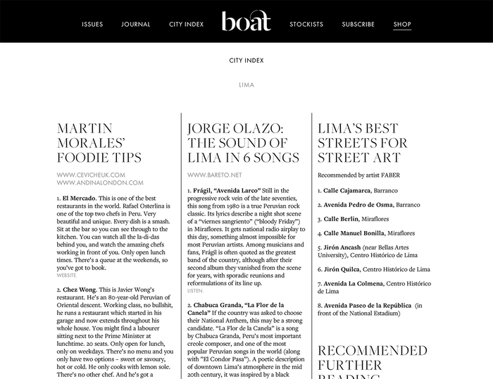 Boat Magazine Website 1