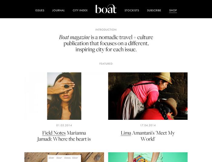 Boat Magazine Website 3