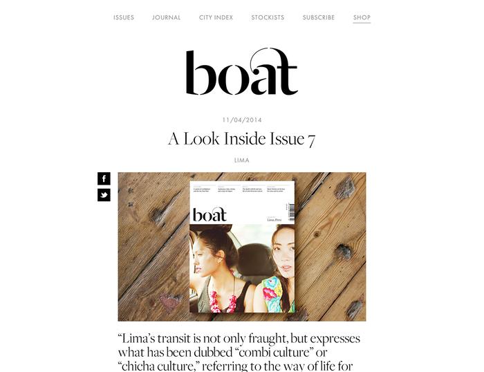 Boat Magazine Website 4