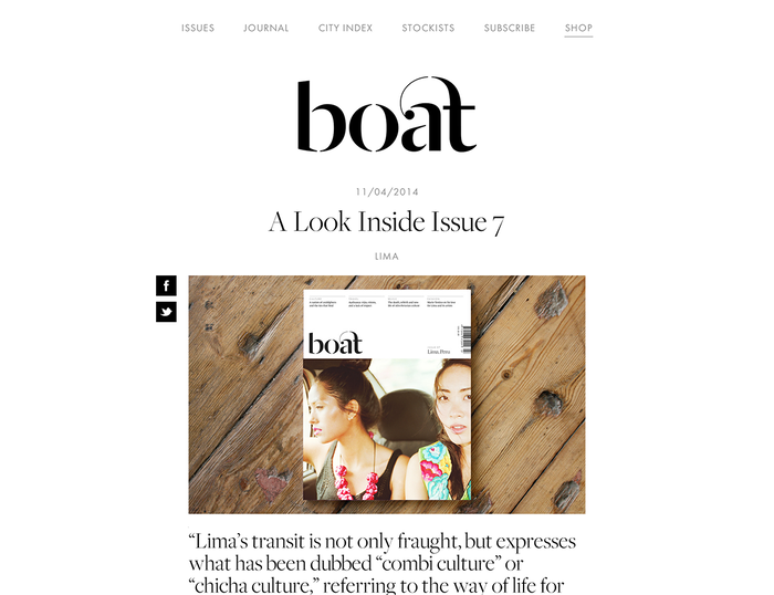 Boat Magazine Website 4