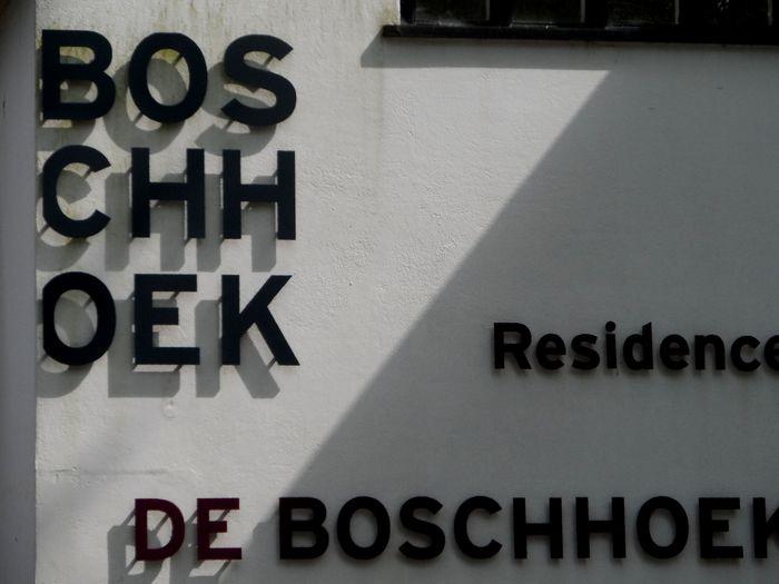 Hotel Boschhoek signs
