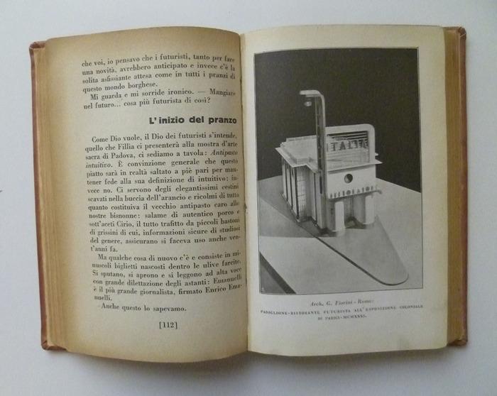 The Futurist's Cookbook by F. T. Marinetti, 1st edition 6