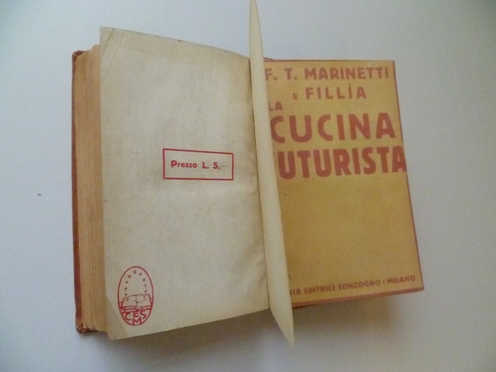 The Futurist's Cookbook by F. T. Marinetti, 1st edition 9