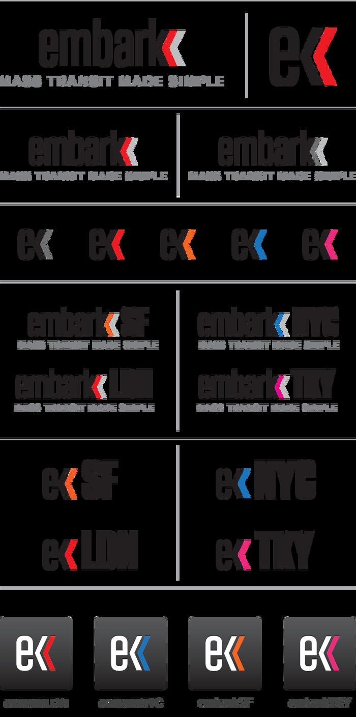 Embark branding and website 1
