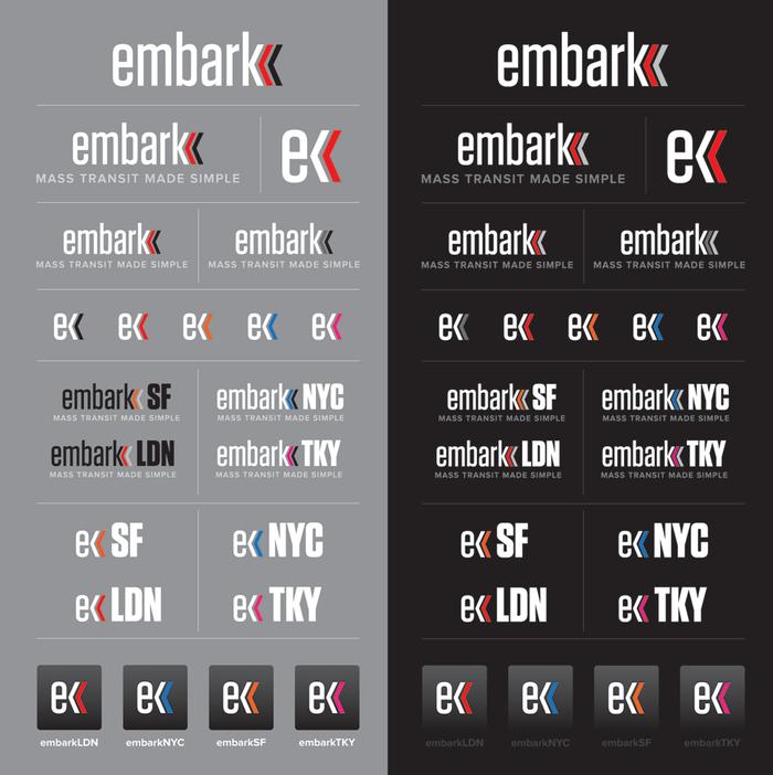 Embark branding and website 3