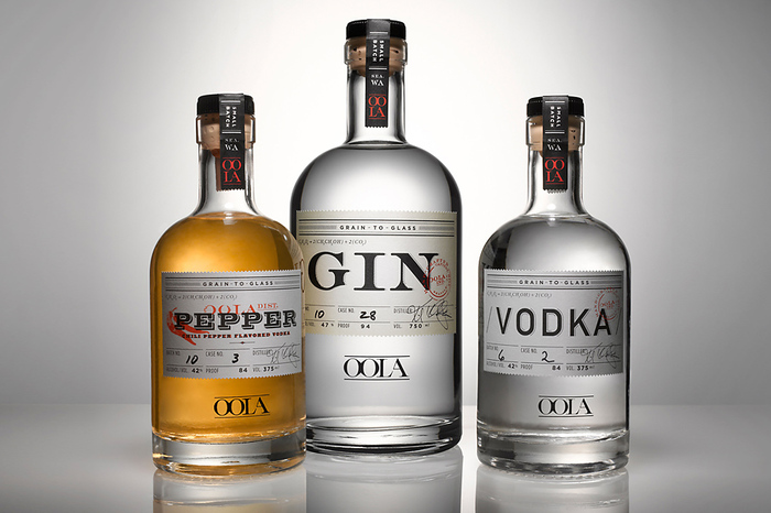 Oola Distillery Package Design 1