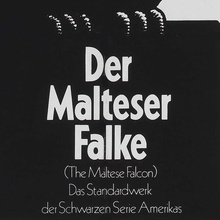 <cite>Der Malteser Falke</cite> movie poster