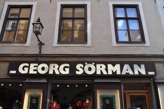 Georg Sörman, Gamla Stan
