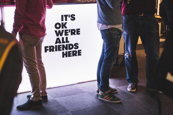 It's Okay We're All Friends Here 1