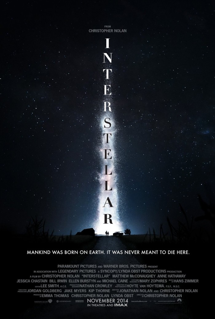 Interstellar movie posters and main title 1